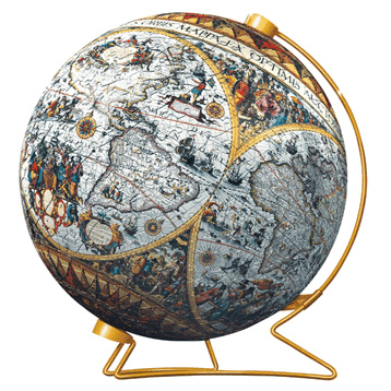 Historical Map Puzzleball
