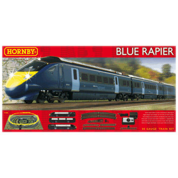 Blue Rapier Class 395 Train Set