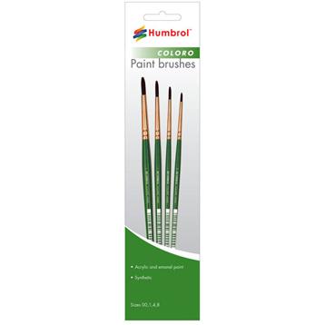 Brushes- Coloro 00-12 range
