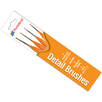 Detail Brushes (4 Pack)