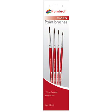 Brushes- Evoco 000-12 range