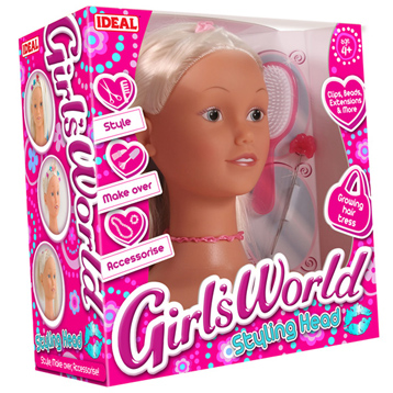 Girls World Bead & Style Head
