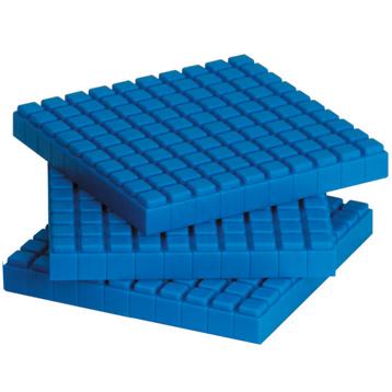 Interlocking Base Ten Flats (10 Pack)