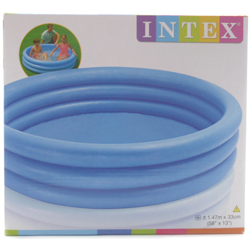Intex Blue 3 Ring Pool (1.47m x 33cm)