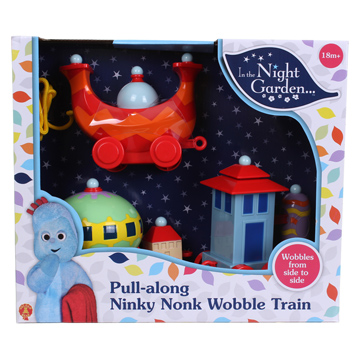 Pull-along Ninky Nonk Wobble Train
