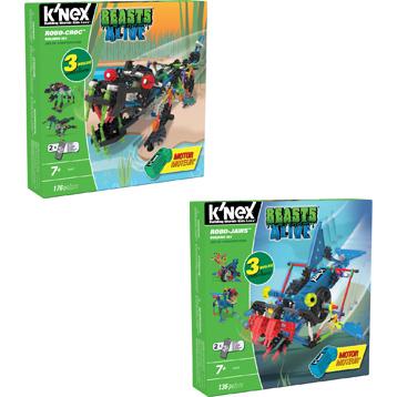 k nex beasts alive instructions