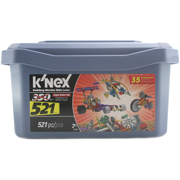 Super Value Tub (521 Piece)