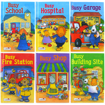 Ladybird 'Busy' Books Series