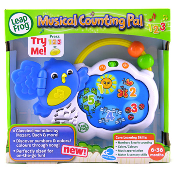 Musical Counting Pal