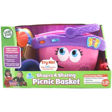 Shapes & Sharing Picnic Basket
