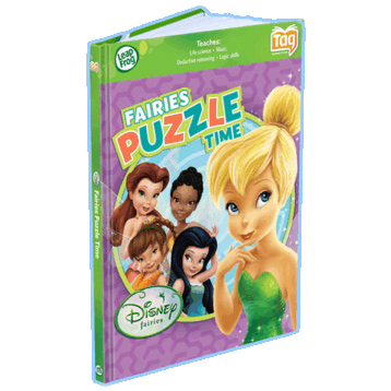 Disney Fairies Puzzle Time
