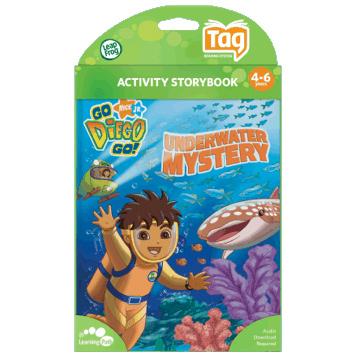 Go Diego Go Underwater Mystery