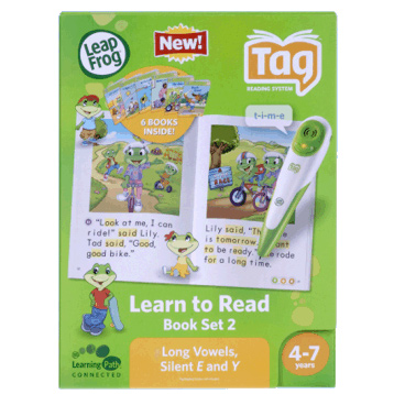 Learn to Read Series 2: Long Vowels, Silent E & Y