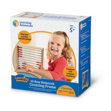 Learning Essentials 10-Row Rekenrek Counting Frame