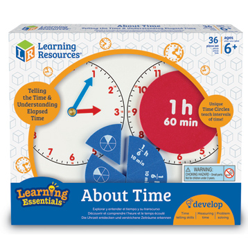Learning Resources About Time Set