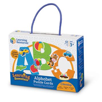 Learning Essentials Alphabet Puzzle Cards