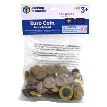 Toy Euro Coins
