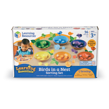 Learning Essentials Birds in a Nest Sorting Set