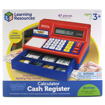 Pretend & Play Calculator Cash Register