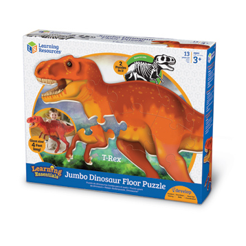 Learning Essentials Jumbo Dinosaur Floor Puzzle