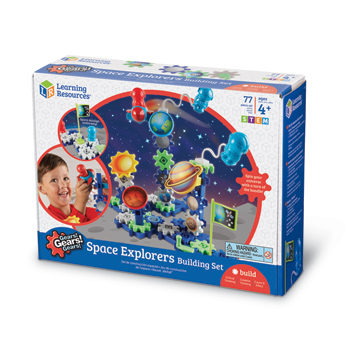 Gears! Gears! Gears! Space Explorers Building Set