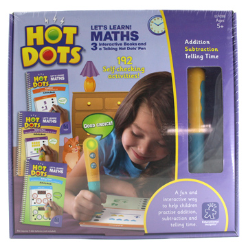 Hot Dots Lets Learn! Maths