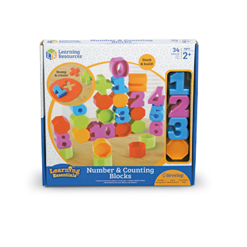 Learning Essentials Number & Counting Blocks