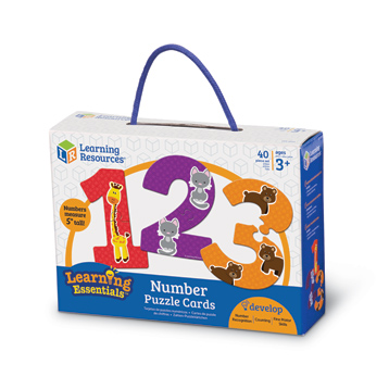Learning Essentials Number Puzzle Cards