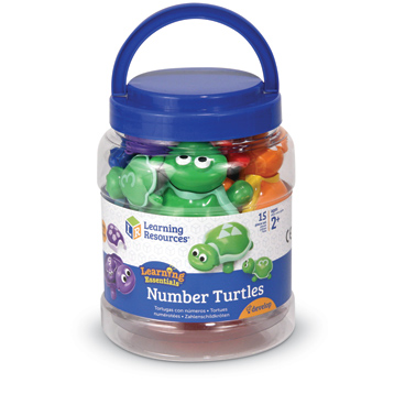 Learning Essentials Snap-n-Learn Number Turtles