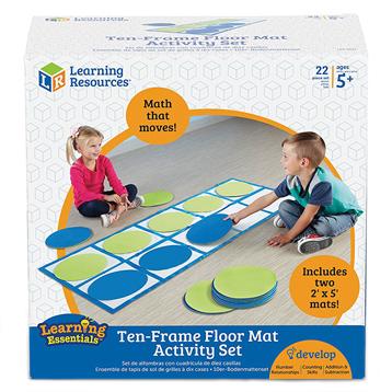 Ten-Frame Floor Mat Activity Set