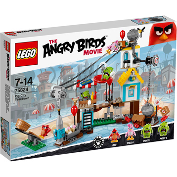 Angry Birds Movie Pig City Teardown