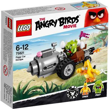 Angry Birds Movie Piggy Car Escape