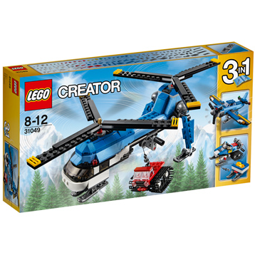 Twin Spin Helicopter 3 in 1 Set