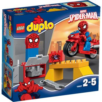 Marvel Spider-Man Web-Bike Workshop