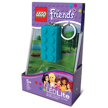 LEGO Friends 2x4 Lego Key Light Azure Blue