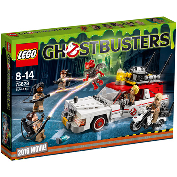 Ghostbusters 2016 Ecto-1 & 2