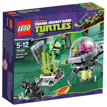 Lego Ninja Turtles Kraang Lab Escape