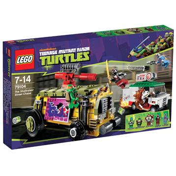 Lego Ninja Turtles Shellraiser Street Chase