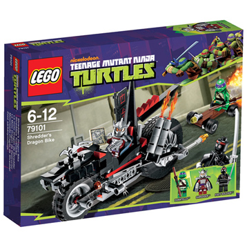Lego Ninja Turtles Shredder's Dragon Bike