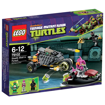 Lego Ninja Turtles Stealth Shell in Pursuit