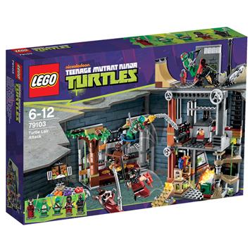 Lego Ninja Turtles Turtle's Lair Attack