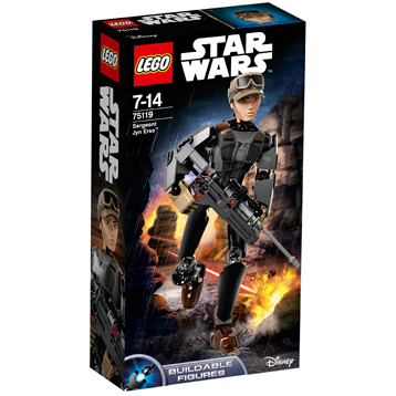 Buildable Figures Sergeant Jyn Erso