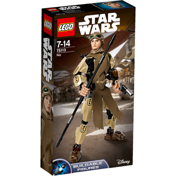 Buildable Figures Rey