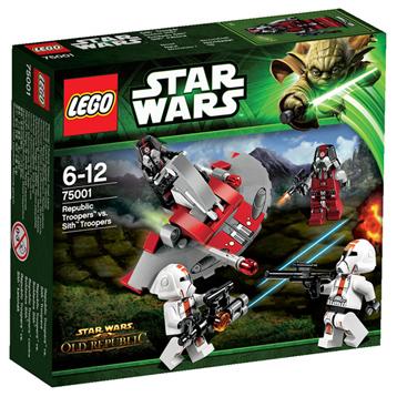 Star Wars Republic Troopers vs Sith Troope