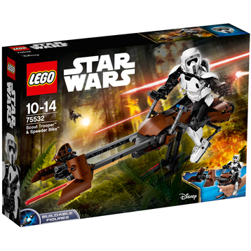 Scout Trooper & Speeder Bike