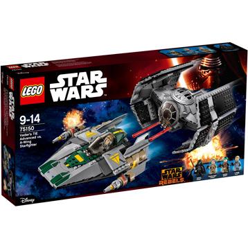 Vader's TIE Advanced vs A-Wing Starfighter