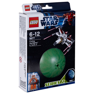 Star Wars X-Wing Starfighter & Yavin 4