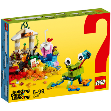 World Fun Brick Box