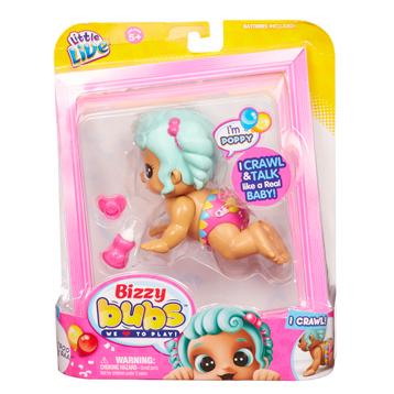 Bizzy Bubs Crawling Baby Poppy