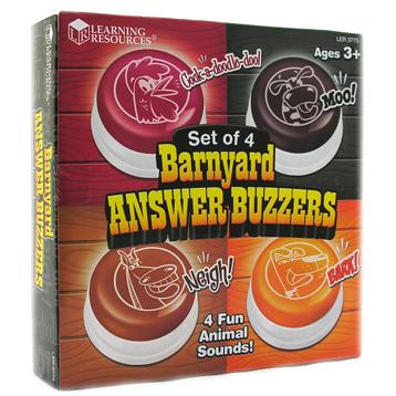 Barnyard Answer Buzzers (Set of 4)